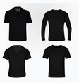 t shirt set vector image vector image