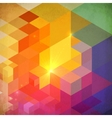 vibrant colorful abstract geometry background vector image vector image