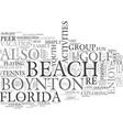 youth activities at boynton beach florida text vector image vector image