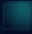 grid for futuristic hud interface line technology vector image