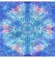 Grunge hand drawn winter seamless pattern vector image