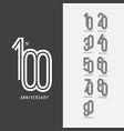 100 th anniversary set 10 20 30 40 50 60 70 80 90