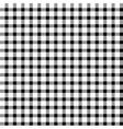 Seamless retro white-black square tablecloth