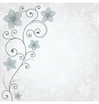 Gentle winter background vector image