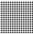 Seamless retro white-black square tablecloth vector image vector image