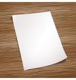 sheet paper vector image
