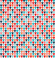 triangle seamless background Triangular background vector image