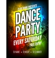 dance party poster template night party