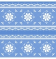 Floral lace pattern for design vector image vector image
