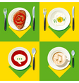 Food vector image vector image