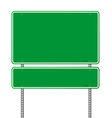 Green blank roadsign vector | Price: 1 Credit (USD $1)