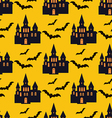 Halloween pattern28 vector image vector image