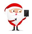 happy christmas character santa claus cartoon 017 vector image vector image