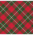 Macgregor tartan kilt fabric textile diagonal vector image vector image