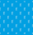 thermometer syringe pattern seamless blue vector image