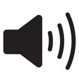 volume max speaker icon vector image vector image