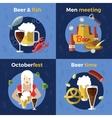 Beer Icon Set vector image