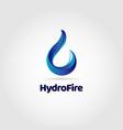 blue water drop logo sign symbol icon vector image vector image
