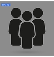 crowd people vector image vector image