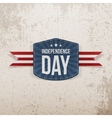 Independence Day grunge Background vector image vector image