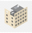 New isometric house under construction vector image