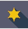 Police single icon vector image vector image