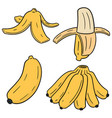 Set of banana