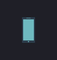 Smartphone computer symbol vector image vector image
