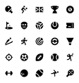 Sports and Games Icons 1 vector image vector image