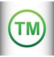 Trade mark sign vector image vector image