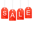 Design for winter and Christmas sale vector image