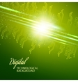 Abstract dark background vector image vector image