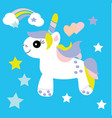 Cute unicorn baby print