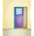 Door entrance vector image vector image