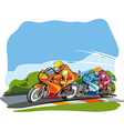 Motor race vector image vector image