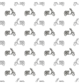 Seamless Scooter Pattern vector image vector image
