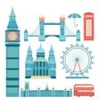 set london vector image vector image