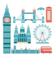 set of London vector image vector image