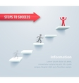 Step by step vector image