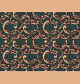 vintage baroque background vector image vector image