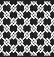 volumetric seamless pattern of vintage lattice vector image vector image