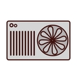 air conditioning icon image vector image vector image