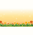 background design template with flowers
