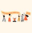 Banner for international womens day