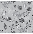 Black and white seamless pattern Abstract vector image vector image