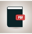 book literature library icon vector image