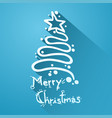 christmas symbol vector image vector image