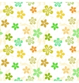 Colorful Flower Pattern vector image vector image