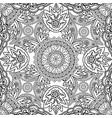 floral oriental line ornament mandala semless vector image vector image