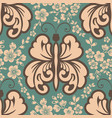 floral seamless pattern element vector image